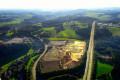 Aufsichtsbild der Gewerbegebietserschließung in Germinghausen